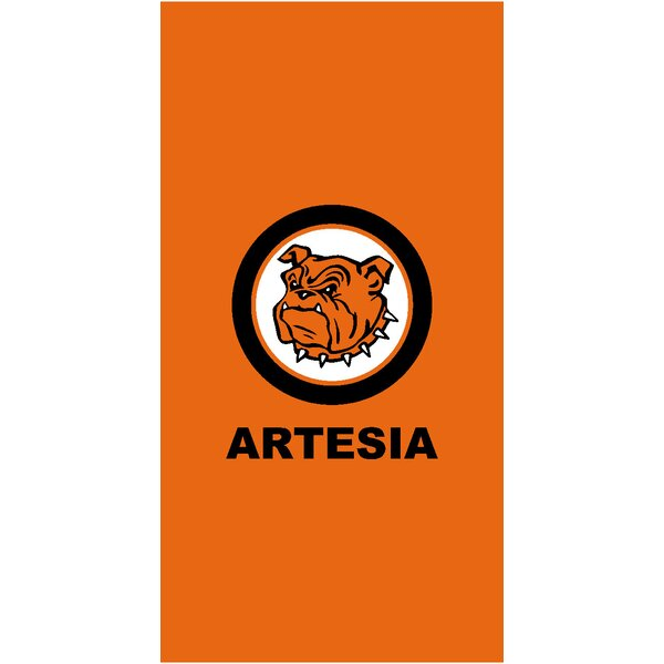 Artesia New Mexico High School 100% Cotton Beach Towel by The Beach Collection
